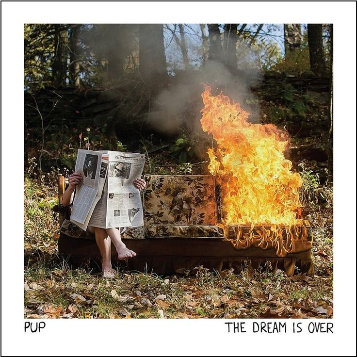 Pup - The Dream Is Over on Colored LP + Download