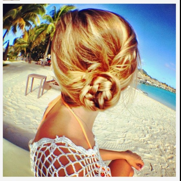 -Twisted Braided Side Bun I