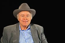 Roy Clark (born April 15, 1933) on the set of A Conversation With Oklahoma Educational Television Authority Tulsa, USA (2014)