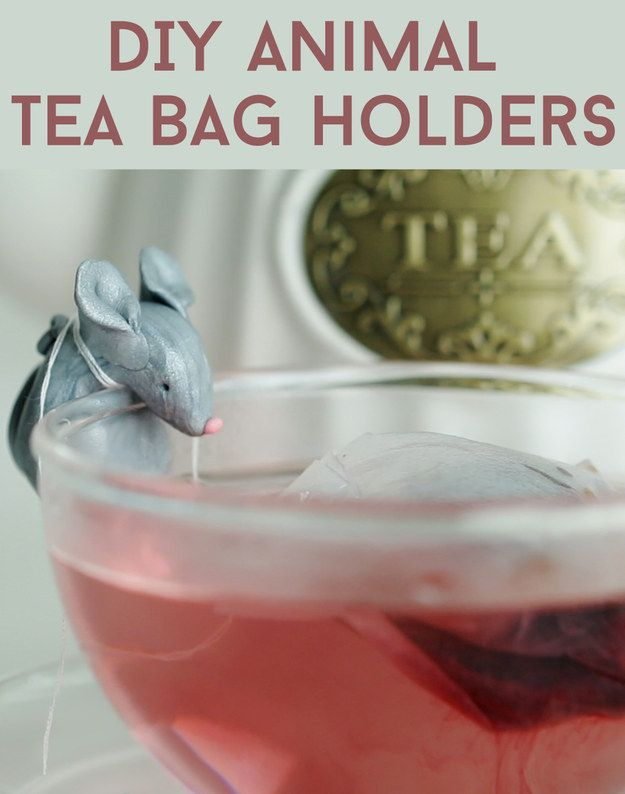 These DIY Tea Bag Holders Are So Damn Cute