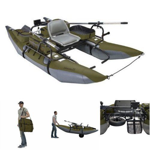 17 best ideas about inflatable pontoon boats on pinterest for Best inflatable fishing kayak