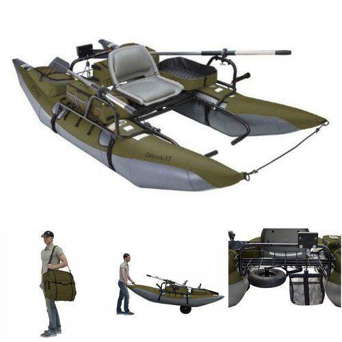 Inflatable-Pontoon-Boat-Fishing-Kayak-Mini-Lake-River-Sports-Transport-1-Person