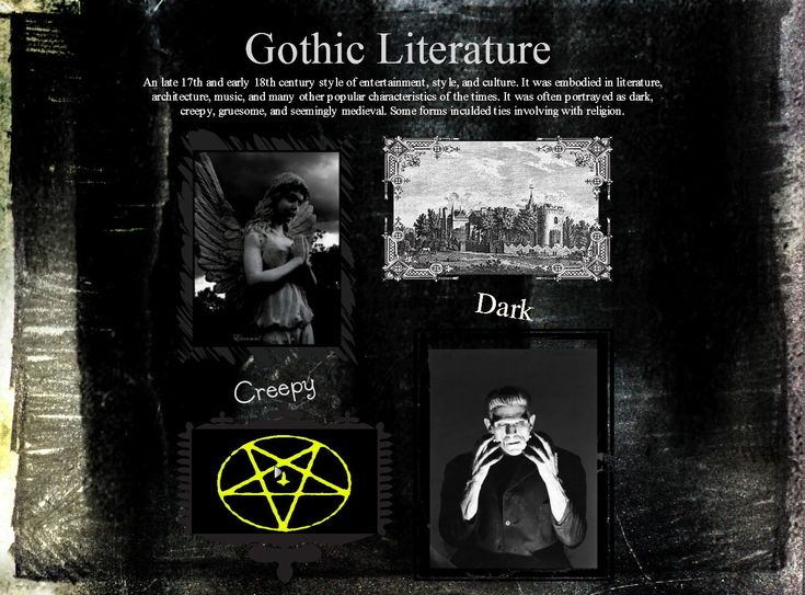gothic writings