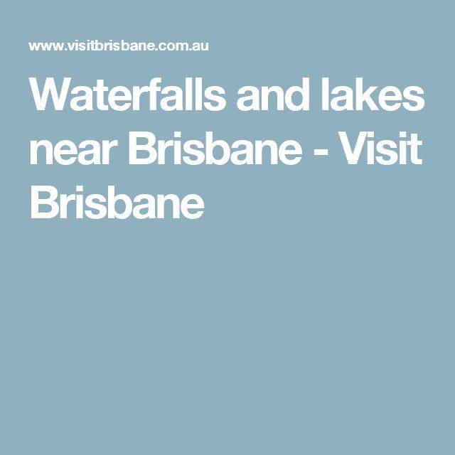 Waterfalls and lakes near Brisbane - Visit Brisbane