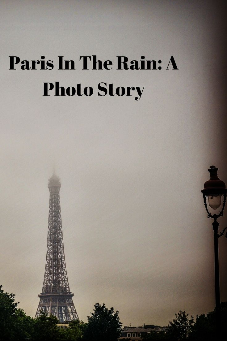 Paris In The Rain: A Photo Story: Travel Books and Food