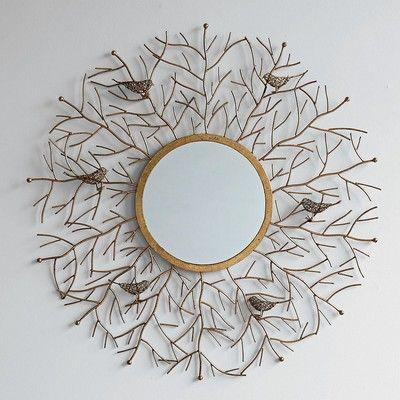 branch mirror unique mirrorsdecorative wall - Decorative Wall Mirrors