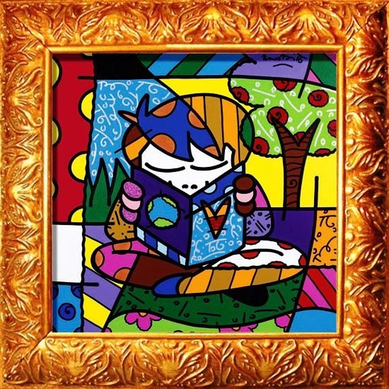 34 best images about romero britto commissions public for Arts and craft websites