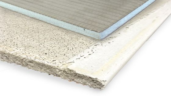 Choosing the right substrate for your mosaic is critical to its longevity.: cement board under wedi board