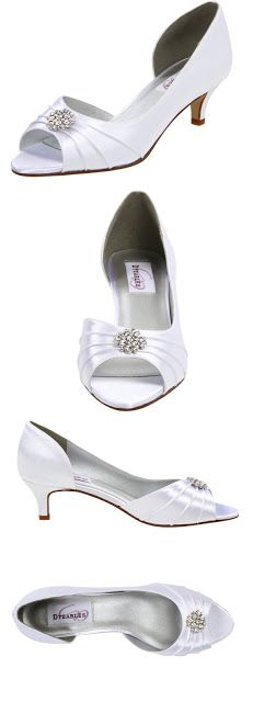 dyeable wedding shoes Dyeables Women's Kim Peep-Toe Pump $22.50 - $75.00 & FREE Returns on some sizes and colors.