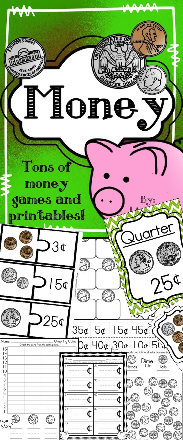 547 best money images on Pinterest | Teaching math, Counting money ...