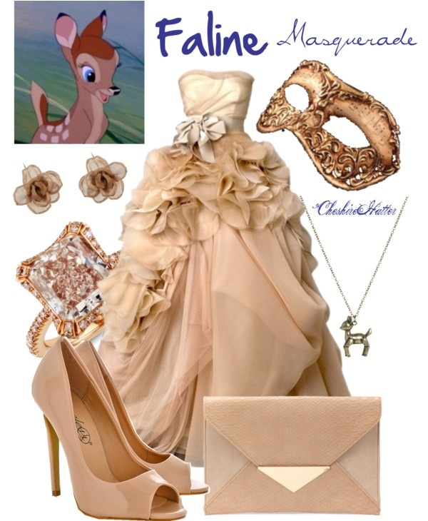 """""""Faline Masquerade"""" by cheshirehatter ❤ liked on Polyvore"""