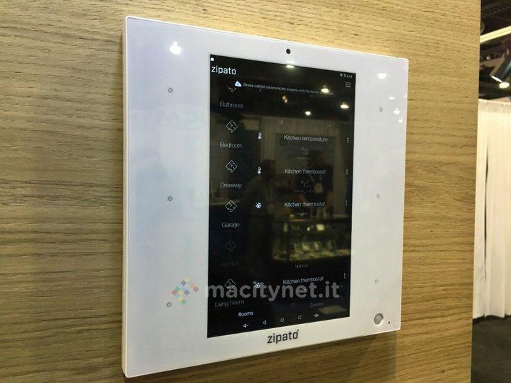 Al CES 2016 Zipato ha presentato ZipaTile lhub domotico con schermo più versatile