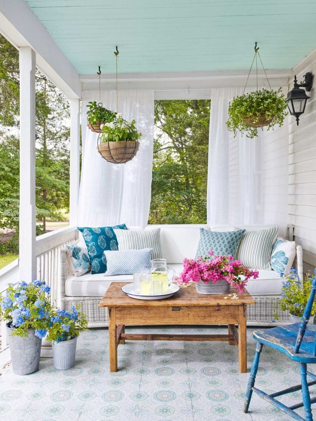 65 Inspiring Ways to Update Your Porch