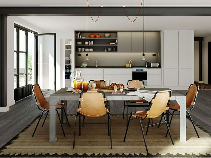 Läderfabriken Apartment Development in Stockholm, by Oscar Properties {these images are renderings! amazing.}