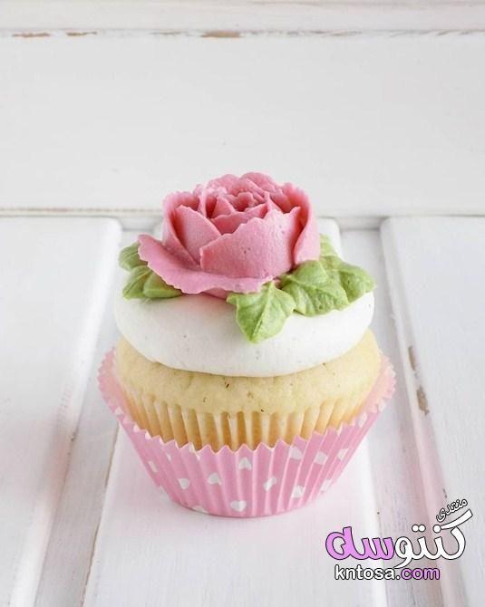 صور كب كيك ورد تلك الورود ليست سوى كاب كيك كب كيك بشكل ورد باقة ورد الكب كيك بالصور Kntosa Com 26 19 155 Desserts Sweets Food