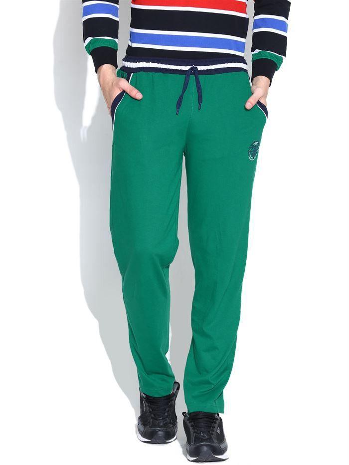 Duke Men's Stem Green Track Pants by Returnfavors