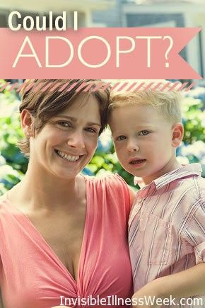 CONSIDERING ADOPTION? CHRONICALLY ILL? you aren't alone. If you are looking for inspiration meet adoptive mom, Sue Badeau who has.... 22 kids! #invisibleillness prize