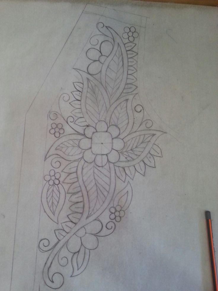Motivo para pintar ou bordar.
