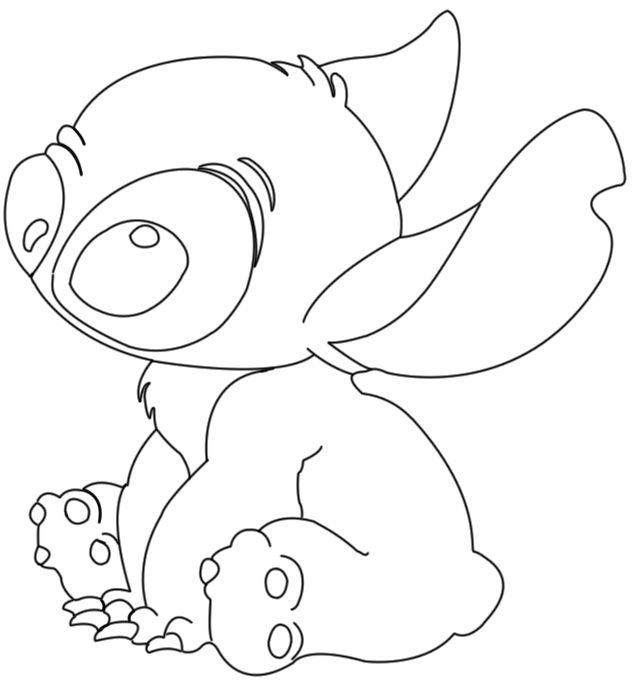 stitch ohana drawing Google Search coloring