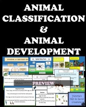 Zip provides powerpoint, jpegs, and pdf format. In Depth Coverage of the Following: Animal Classification: Classify these vertebrate animals into 5 groups: Amphibians, Reptiles, Birds, Mammals, and Fish The following questions are answered: Is the animal a vertebrate?