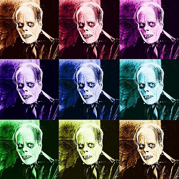 The Phantom of the Opera as portrayed by Lon Chaney