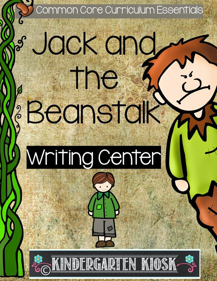 Writing about jack and the beanstalk images
