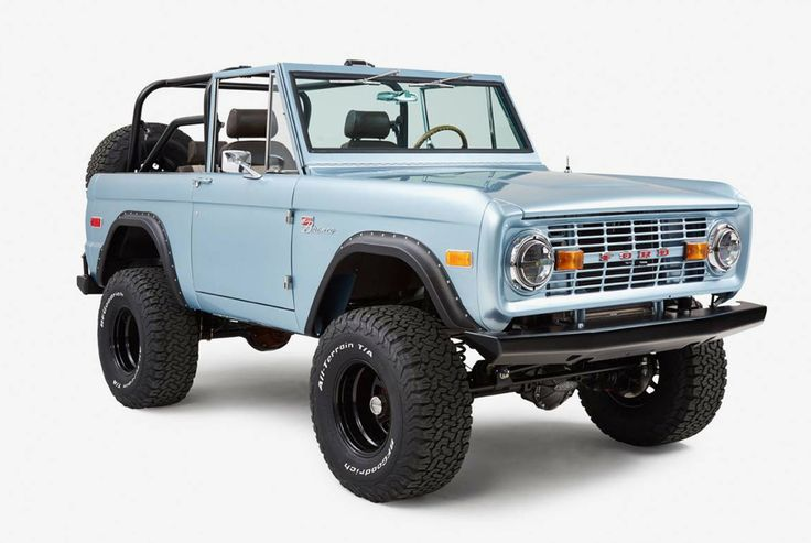 1971 Ford Bronco by Classic Ford Broncos - Gear Patrol