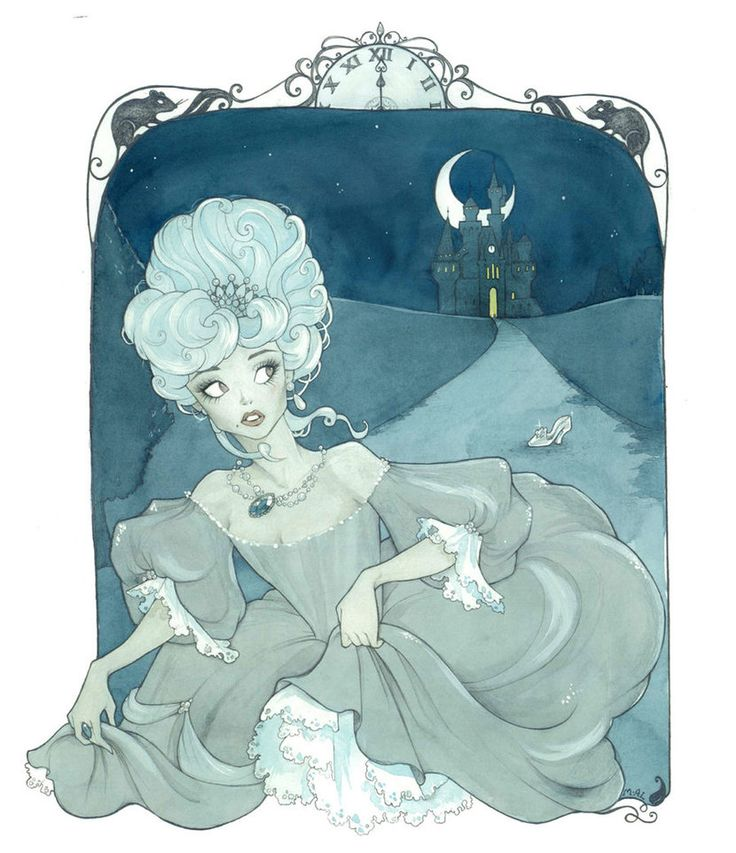 Cinderella dressed in Baroque-inspired fashion. I do better with the monochromatic color schemes, I think, cuz this is my fave so far. Watercolor mistakes still present but I'm thinking of experime...
