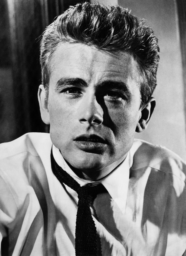 "James Dean comme Jim Stark dans «Rebel Without a Cause"". (WB 1955)"