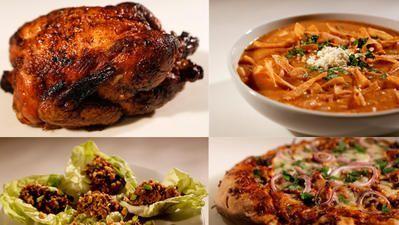 Von einem Brathähnchen 25 Ideen zum Abendessen  #abendessen #brathahnchen #eine…