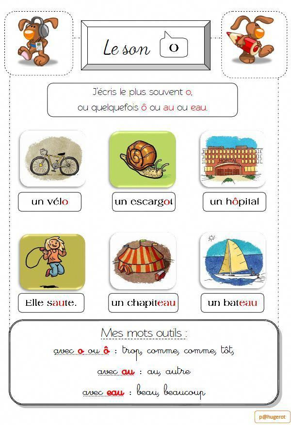 Cahier Des Sons La Classe De Lorien French Lessons Teaching French Learn French
