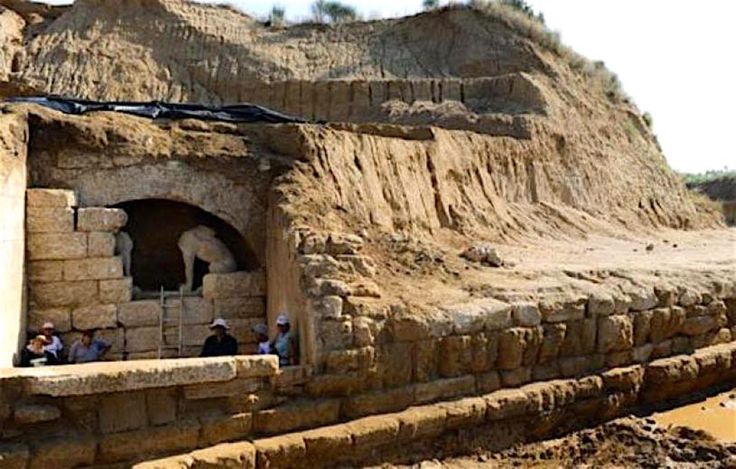 The ancient Theater of Amphipolis, Northern Macedonia, Greece