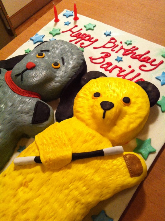 Sooty and Sweep cake | illhavetheworks