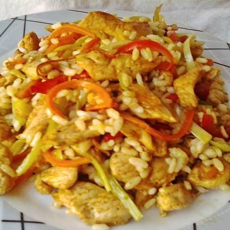 Egy finom Rizses csirke keleti hangulatban ebédre vagy vacsorára? Rizses csirke keleti hangulatban Receptek a Mindmegette.hu Recept gyűjteményében!