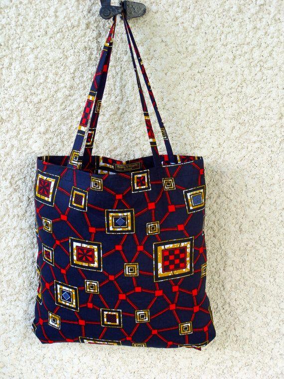 WoKaba 2 un sac fourre tout en wax tissu de par AmelieMagalieDesignhttp://www.alittlemarket.com/boutique/amelie_et_magalie_design-1568961.html