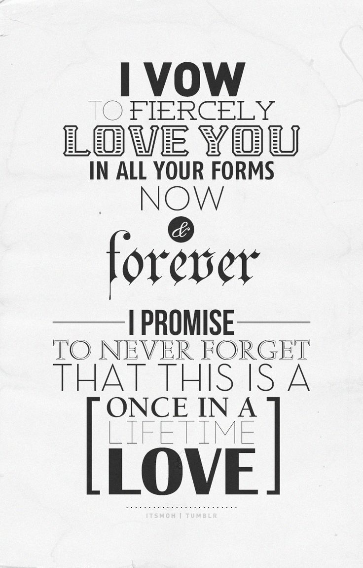 The vow :)