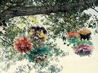 Мой особенный мир: вдохновляющие идеи для Жизни: Бумажные помпоны: простой и яркий декор!