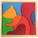 Squirrel Wooden Block Puzzle