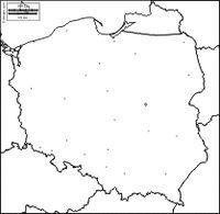 Polska: darmowe mapy, darmowe puste mapy, darmowe mapy zarys, darmowe mapy bazowe