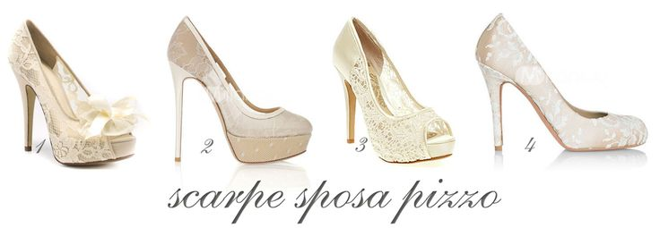 scarpe pizzo    http://www.nozzefurbe.com/nozze-low-cost/abiti-e-accessori-low-cost/scarpe-da-sposa-proposte-dal-web.html