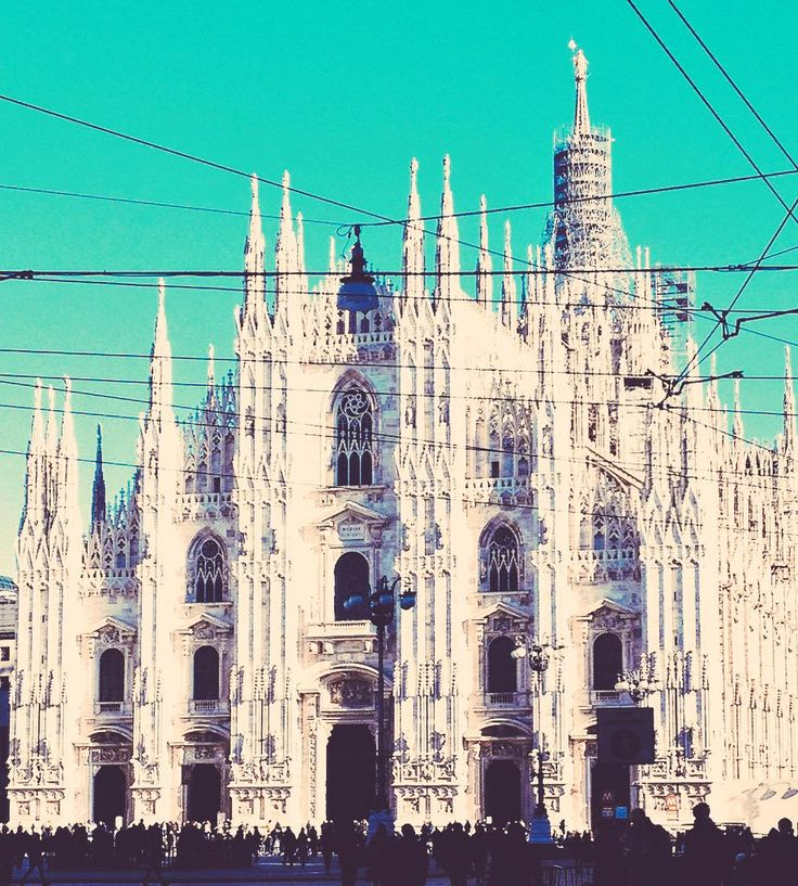 #duomodimilano one of the biggest #cathedrals in #Europe. It's the symbol of #Milan, city hosting the #Expo2015