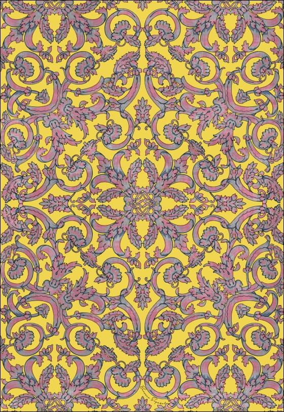 baroque print wallpaper - photo #31