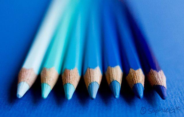 131/365: Blueish