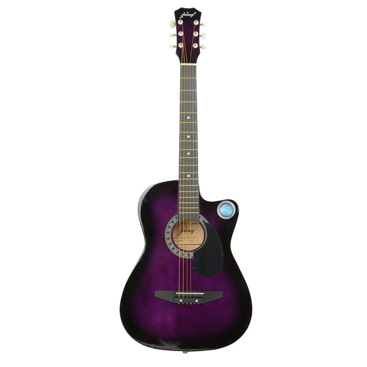 """CSP-38C 38"""" Basswood Cutaway Acoustic Guitar with Bag, Strap, Pick"""