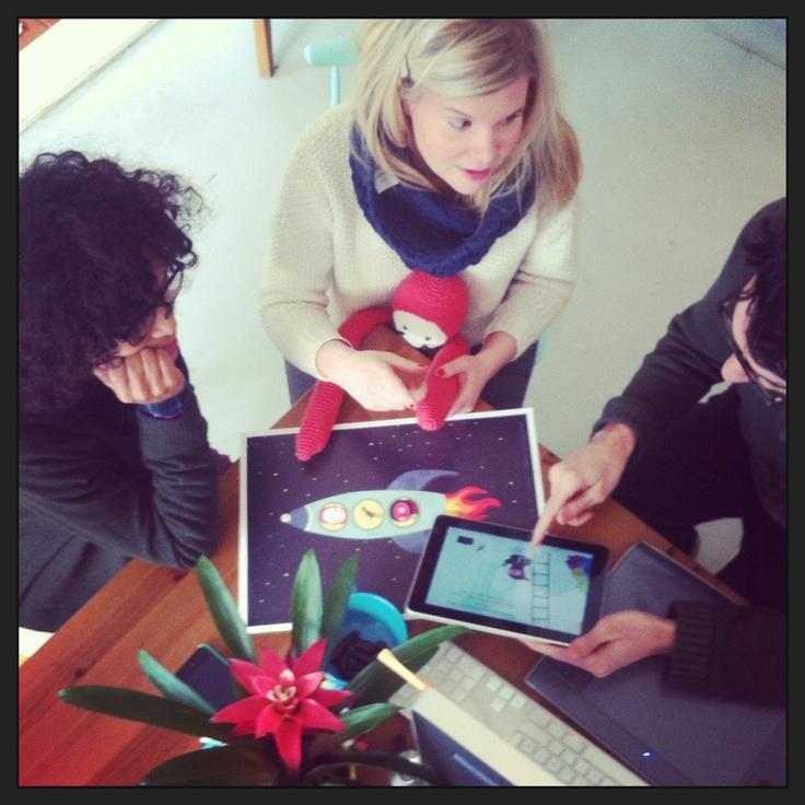 working on the saari story books ❤