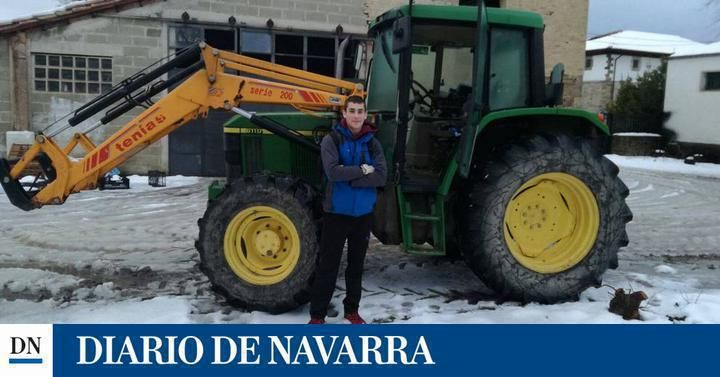 Mikel y su viaje en tractor a San Jorge para no perderse un examen | SeleccionDN+ | Noticias de Navarra en Diario de Navarra DNPlus