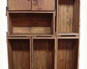 Armário 6 caixotes com uma porta
