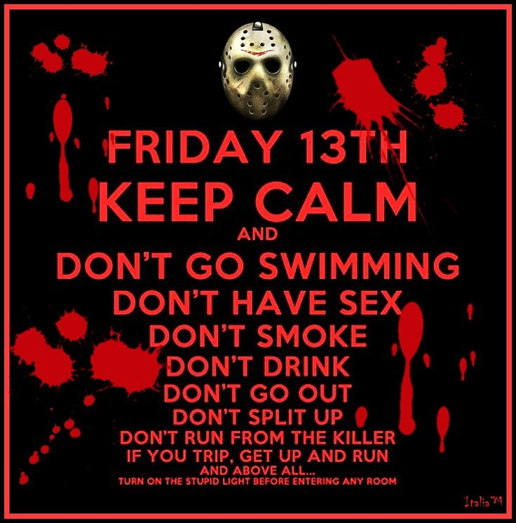 Quotes About Friday The 13th: 17 Best Images About Friday 13 On Pinterest