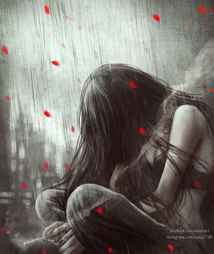 На сердце грусть в картинках