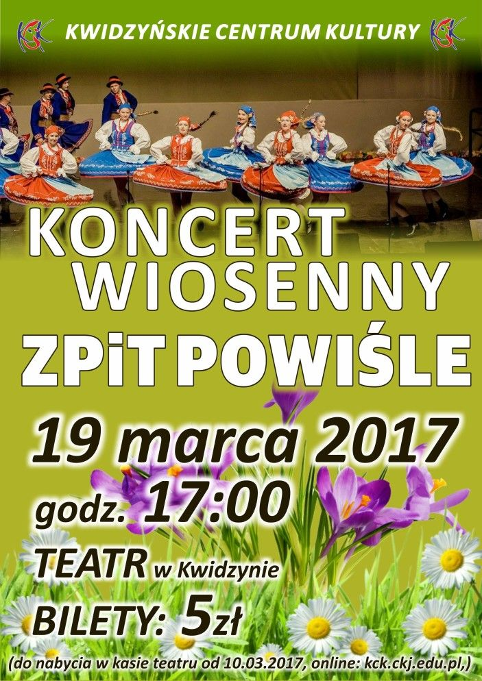 Koncert Wiosenny, 19.03.2017 r.